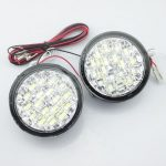 Lumini de zi rotunde 18 led*0,5W 12V - Off when headlight on