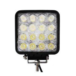 Proiector LED Auto Offroad 48W/12V-24V, 3520 Lumeni, Patrat, Flood Beam 60 Grade