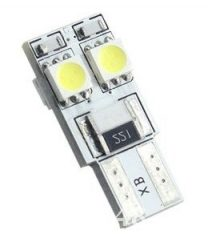 Led auto T10 Canbus cu 4 SMD