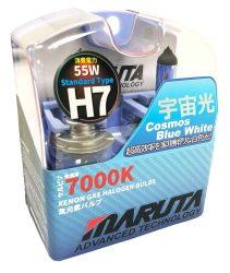 SET 2 BECURI AUTO H7 MTEC COSMOS BLUE WHITE - XENON EFFECT