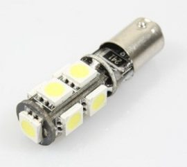 Led auto BA9S Canbus cu 9 SMD