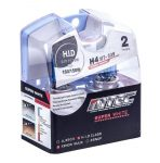 SET 2 BECURI AUTO H4 24V 75/70W MTEC SUPER WHITE - XENON EFFECT