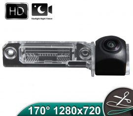 Camera marsarier HD, unghi 170 grade cu StarLight Night Vision VW Passat B6 sedan, Passat CC, Golf 4, Golf 5, Polo, Scirocco, Phaeton - FA8059