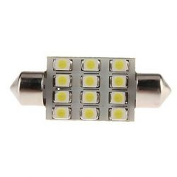 Led auto sofit cu 12 SMD 3528 39 mm - BTLE3155