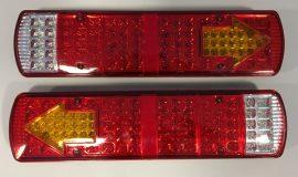 Set 2 Stopuri LED camion 24V cu 5 functii #050