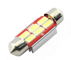Led Auto Canbus Sofit 36mm cu 6 SMD 5730 - fara polaritate