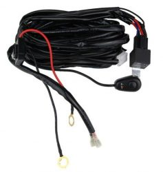 Cablaj cu buton si releu pentru 1 proiector led/led bar pana la 288W