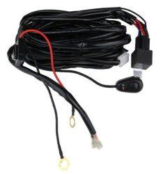 Cablaj cu buton si releu pentru 1 proiector led/led bar pana la 288W BTAC-W101