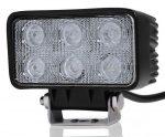 Proiector LED Auto Offroad 18W/12V-24V, 1320 Lumeni, Dreptunghiular, Flood Beam 60 Grade