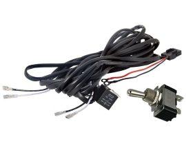 """Cablaj cu buton """"ROCKET"""" si releu pentru 2 proiectoare led/led bar pana la 240W BTAC-W102-RS"""