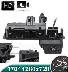 Camera marsarier HD, unghi 170 grade cu StarLight Night Vision pentru Skoda Kodiaq, Karoq, Rapid, Scala - FA8046