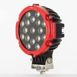 Proiector LED Auto Offroad 51W/12V-24V, 3740 Lumeni, Rosu, Flood Beam 60 Grade