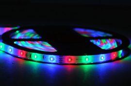 Banda led Multicolora 60 SMD-uri 3528/metru