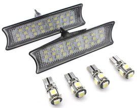 Set Plafoniere LED Fata dedicate BMW E60, E65, E87 - BTLL-078