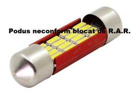 Led Auto Sofit 36mm cu 16 SMD 4014 - fara polaritate