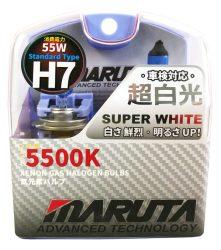 SET 2 BECURI AUTO H7 MARUTA SUPER WHITE - XENON EFFECT