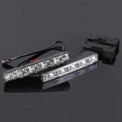 Lumini de zi DRL 5*1W 12/24V cu pornire si oprire automata