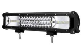 """LED Bar Auto 216W, leduri pe 3 randuri, 12V-24V, 15120 Lumeni, 15,5""""/39,4 cm, Combo Beam 12/60 Grade"""