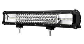 """LED Bar Auto 270W, leduri pe 3 randuri, 12V-24V, 18900 Lumeni, 20""""/50,8 cm, Combo Beam 12/60 Grade"""