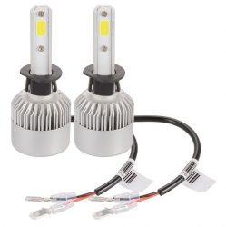 Set 2 leduri H1 Canbus pentru far auto putere 60W, luminozitate 4000 Lm, 12V