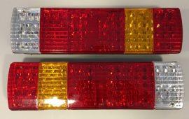 Set 2 Stopuri LED camion 24V cu 5 functii #045