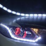 Lumini de zi flexibile cu semnalizare progresiva, dinamica (tip Audi) cu 16 module efect Matrix flow