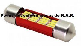 Led Auto Sofit 39mm cu 16 SMD 4014 - fara polaritate