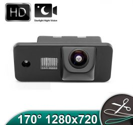 Camera marsarier HD, unghi 170 grade cu StarLight Night Vision pentru Audi A3, A4, A6, Q7 - FA909