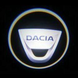 Proiectoare Portiere cu Logo Dacia - BTLW212