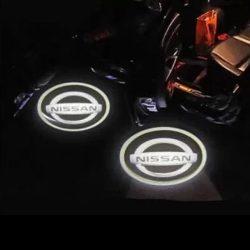 Proiectoare Portiere cu Logo Nissan - BTLW019