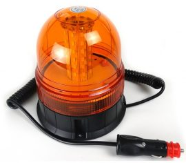Girofar cu LED cu baza magnetica 12V-24V cu 3 functii WL014(G)