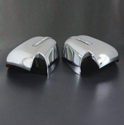 Capace oglinzi cromate cu LED Mitsubishi L200 Triton 2015, 2016, 2017, 2018, 2019 MLT15DMCLC