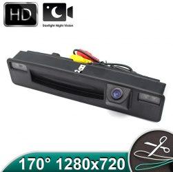 Camera marsarier HD, unghi 170 grade cu StarLight Night Vision FORD FOCUS MK3, FIESTA  pe manerul de la hayon - FA974
