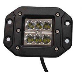 Proiector LED Auto Offroad 18W/12V-24V, 1320 Lumeni, Incastrabil, Flood Beam 90 Grade