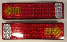 Set 2 Stopuri LED camion 24V cu 5 functii JSM-16