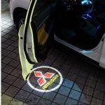 Proiectoare Portiere cu Logo Mitsubishi