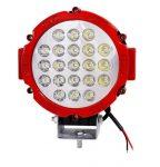 Proiector LED Auto Offroad 63W/12V-24V, 4410 LM, Rosu, Spot Beam 30 Grade