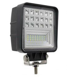 Proiector LED Auto Offroad 7D 63W/12V-24V, 5040 LM, Patrat, Flood Beam 150 Grade
