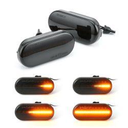 Set 2 Semnalizari Aripa LED Dinamice Fiesta, Fusion, Galaxy, Focus - BTLL-243D-3
