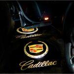 Proiectoare Portiere cu Logo Cadillac