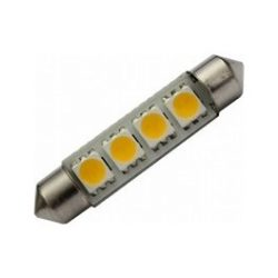Led auto sofit cu 4 SMD 41 mm