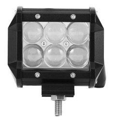 """LED Bar Auto Offroad 4D 18W/12V-24V, 1530 Lumeni, 4""""/10 cm, Spot Beam 12 Grade"""