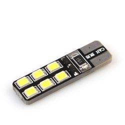 Led auto T10 (W5W) Canbus 12 SMD 2835 Super Bright - BTLE1160