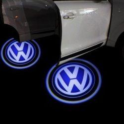 Proiectoare Portiere cu Logo Volkswagen - BTLW007