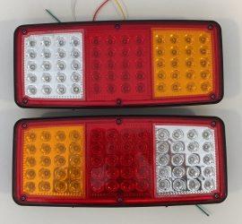 Set 2 Stopuri LED camion 24V cu 4 functii JSM-7