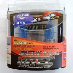 SET 2 BECURI AUTO H15 MTEC SUPER WHITE - XENON EFFECT
