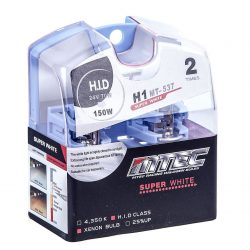 SET 2 BECURI AUTO H1 24V 70W MTEC SUPER WHITE - XENON EFFECT