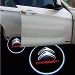 Proiectoare Portiere cu Logo Citroen  - BTLW091