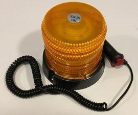 Girofar magnetic cu LED 12V - 24V Rotativ + Stroboscop JSM-126