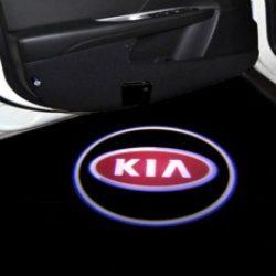 Proiectoare Portiere cu Logo KIA